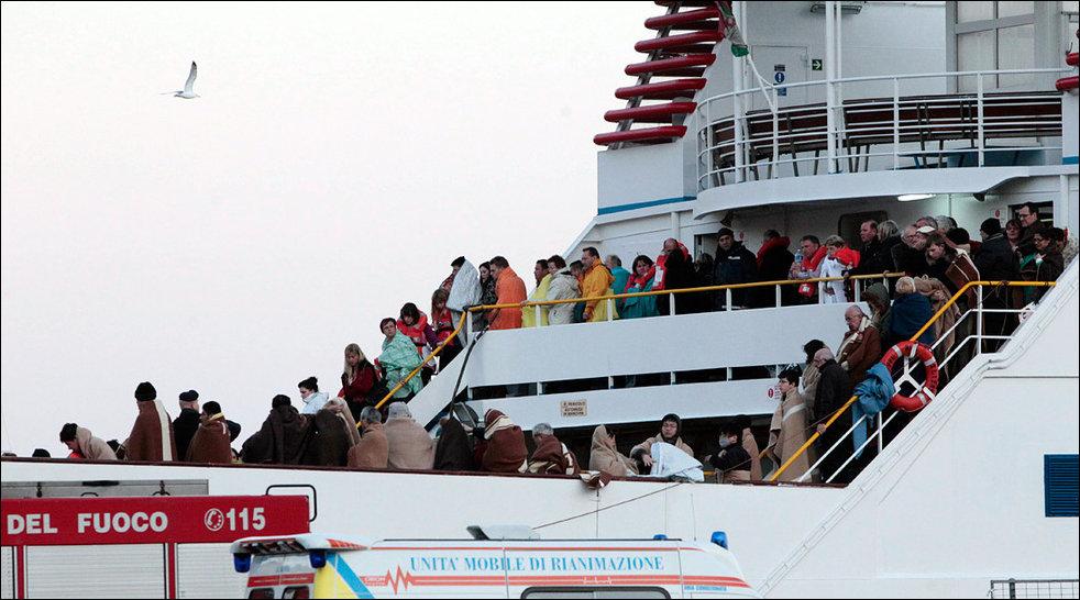 Кораблекрушение Costa Concordia