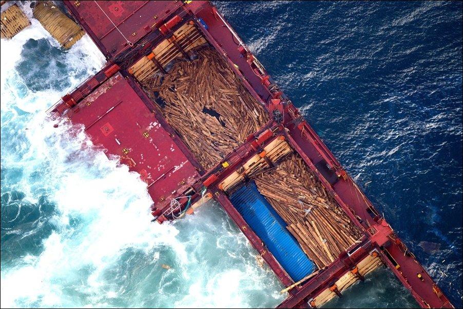 Кораблекрушение грузового судна Rena