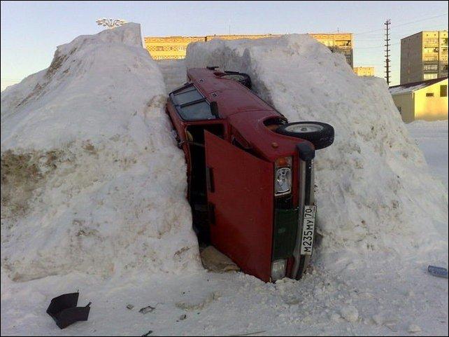Зимние способы парковки