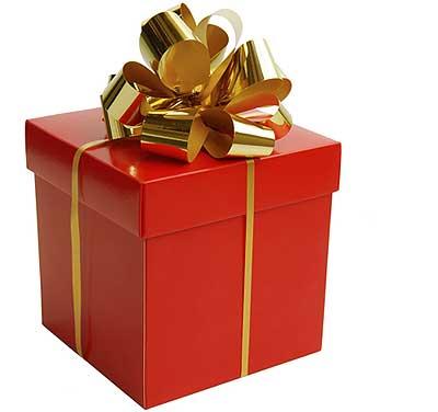 Всем нам на 23 февраля дарят подарки