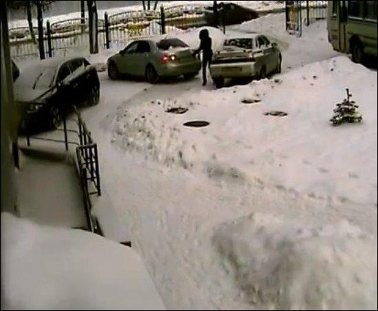 Девушки паркуются