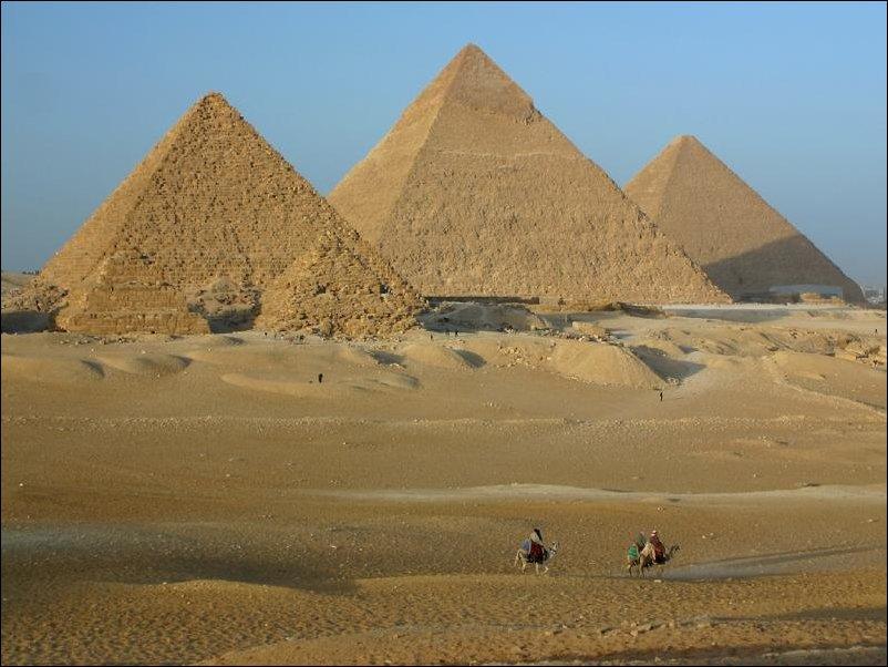 Египетские пирамиды с другого ракурса