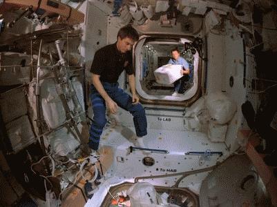 Тем временем в космосе