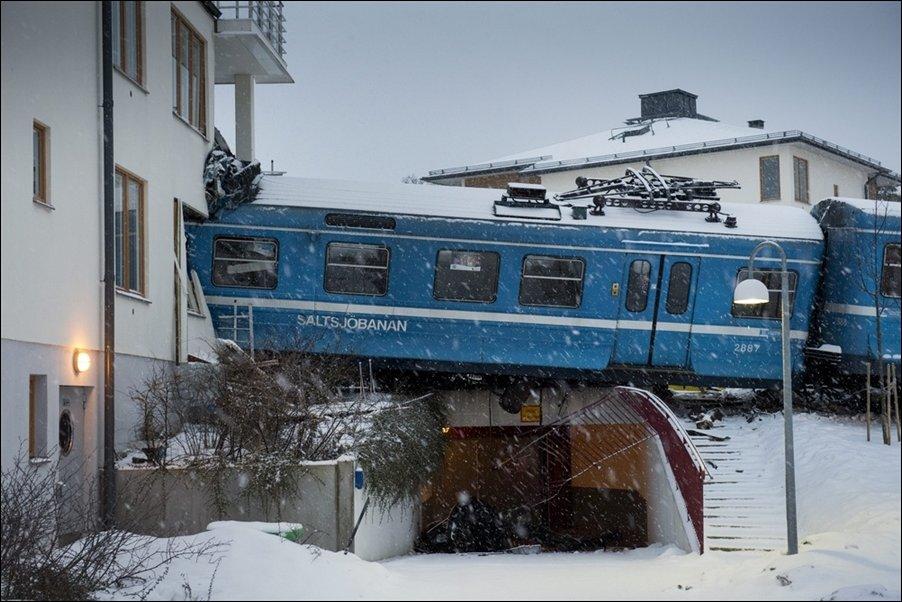 Уборщица угнала поезд