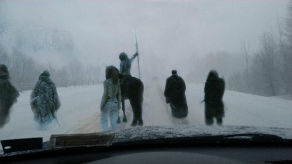 Зима в США