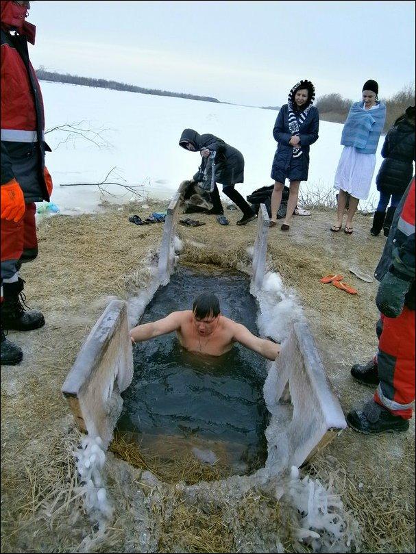 Крещенские купания 2014