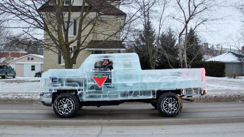 Ледяной грузовик