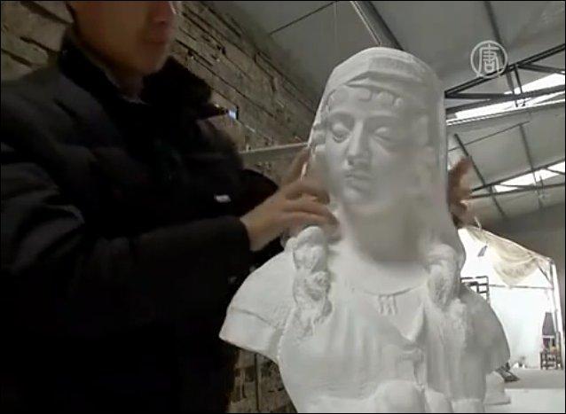 Живые скульптуры из бумаги