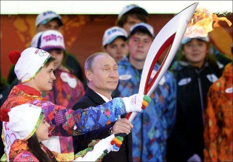 Приключения Олимпийского огня в России