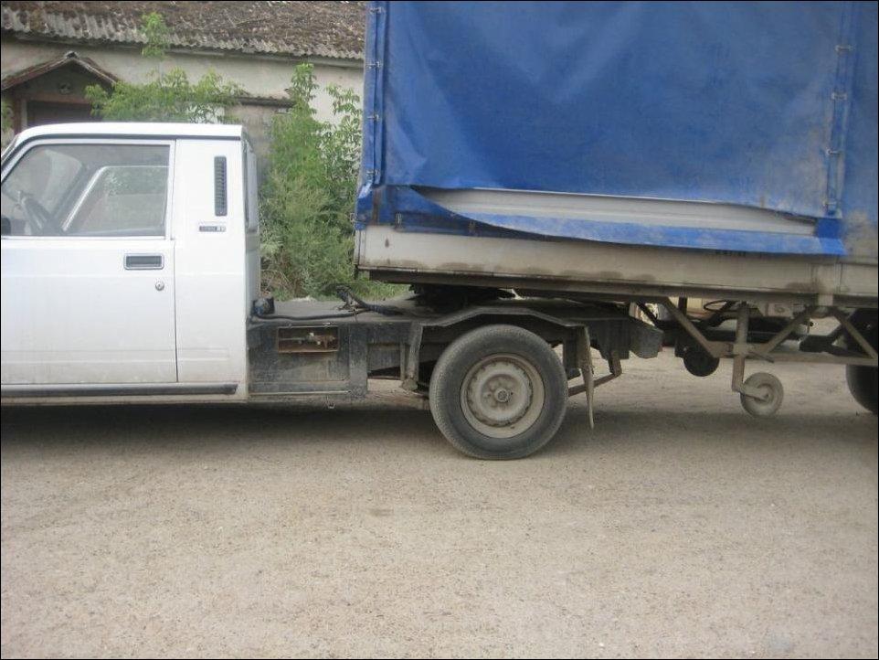 ВАЗ с фургоном