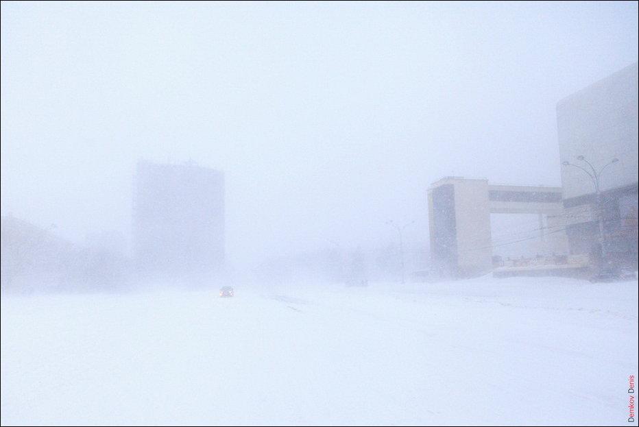 Зима в Ростове