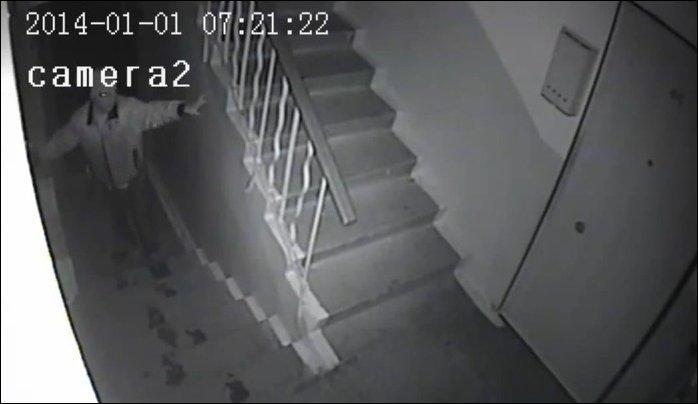 Зомби утром первого января