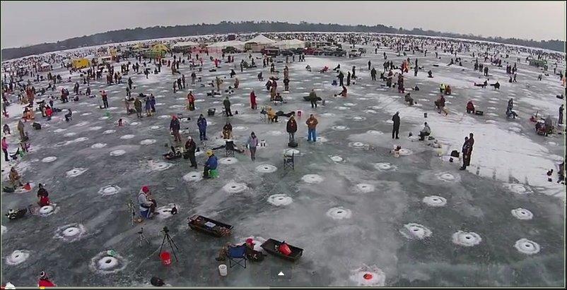 Зимняя рыбалка в Мннесоте