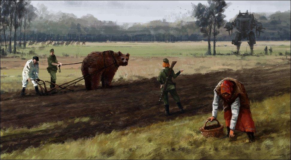 Картины художника Якуба Розальски