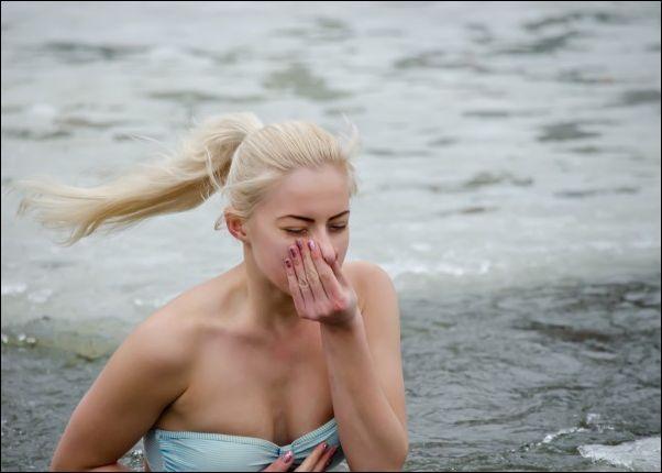 Крещение 2016, купание