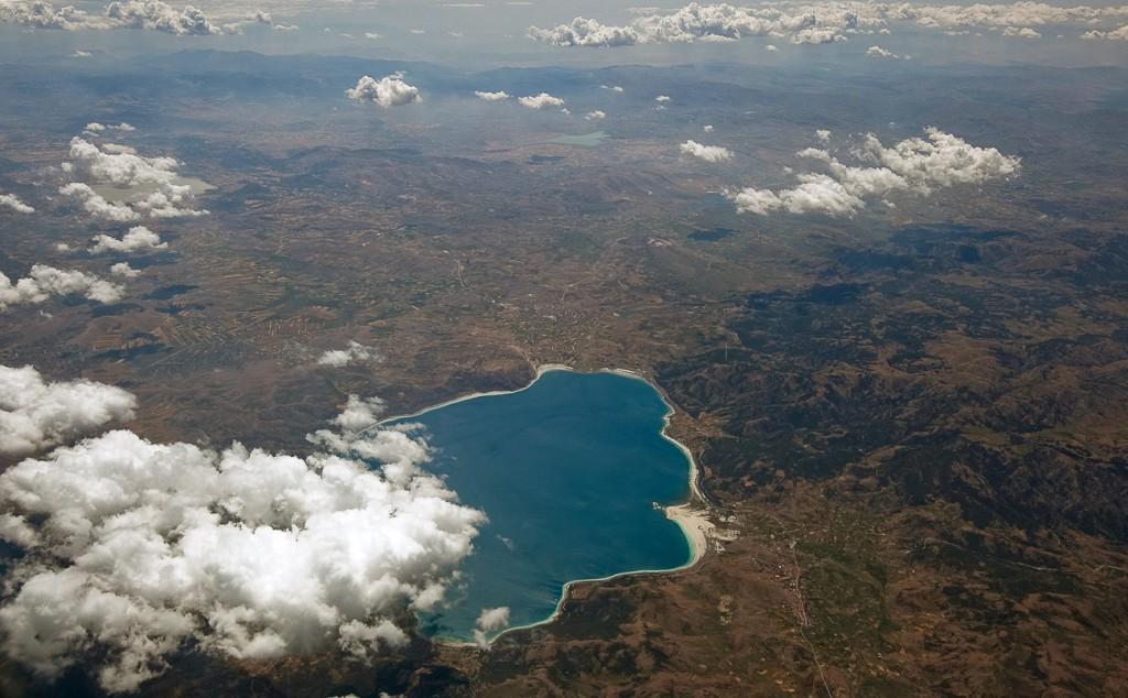 Озеро в Турции