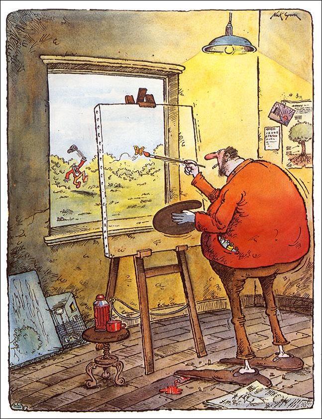 этом коллекция юмора в картинках и карикатурах решётки будет