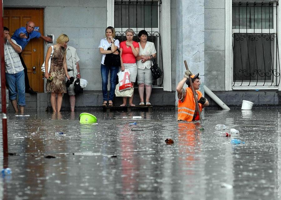 фото москвы после дождя 15 августа