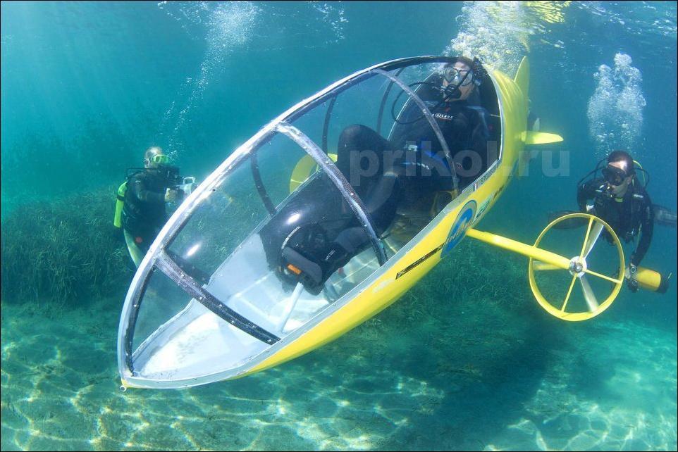 Подводный велосипед своими руками