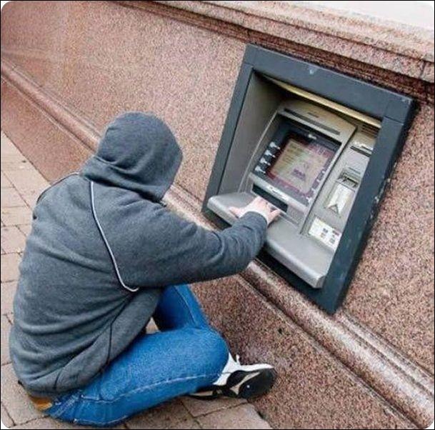 смешные картинки с банкоматами многие