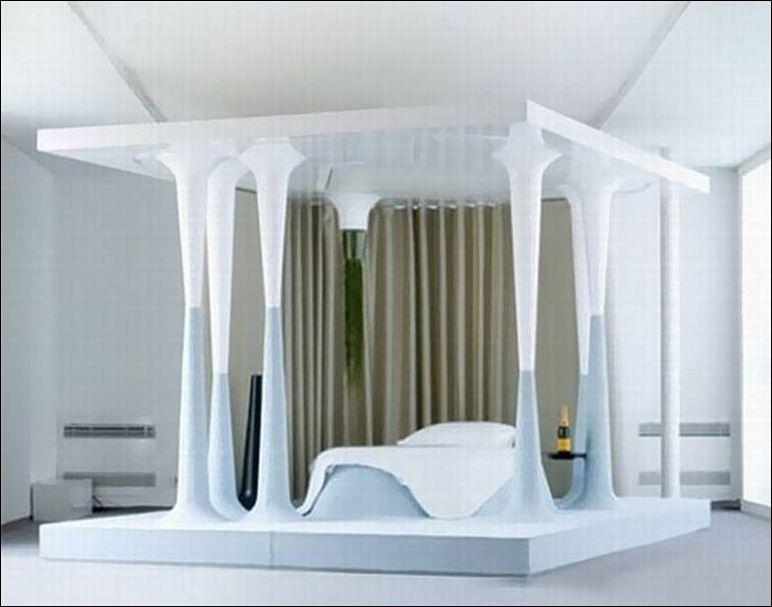 Необычные кровати фото