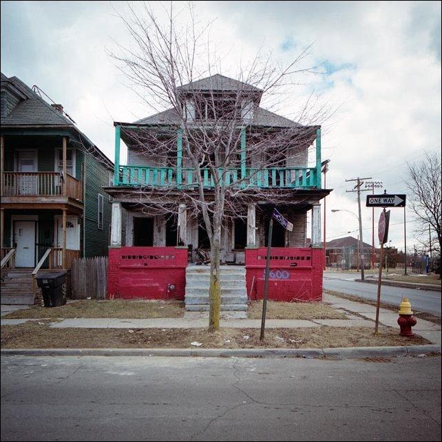 Заброшенные дома Детройта