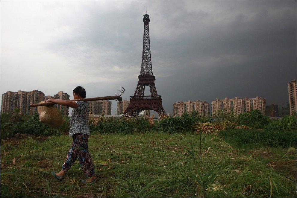 Китайская копия Парижа