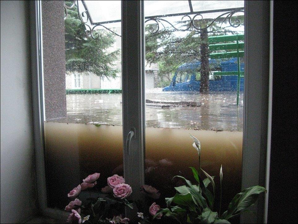 Наводнение в Луцке