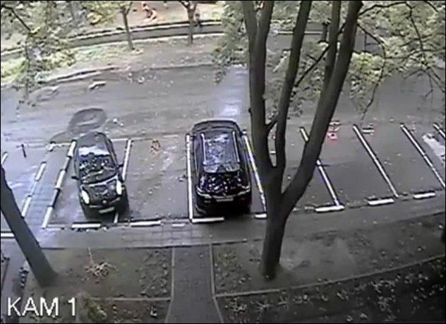 Фейл на парковке