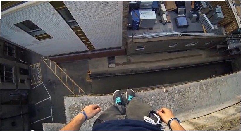 Паркур по крышам