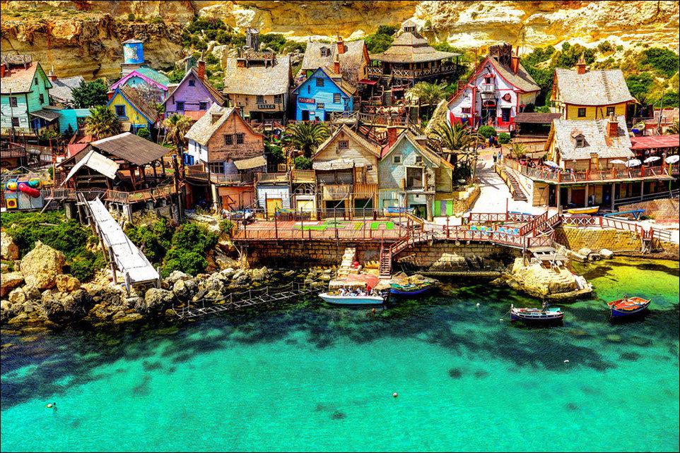 Красивые деревни мира