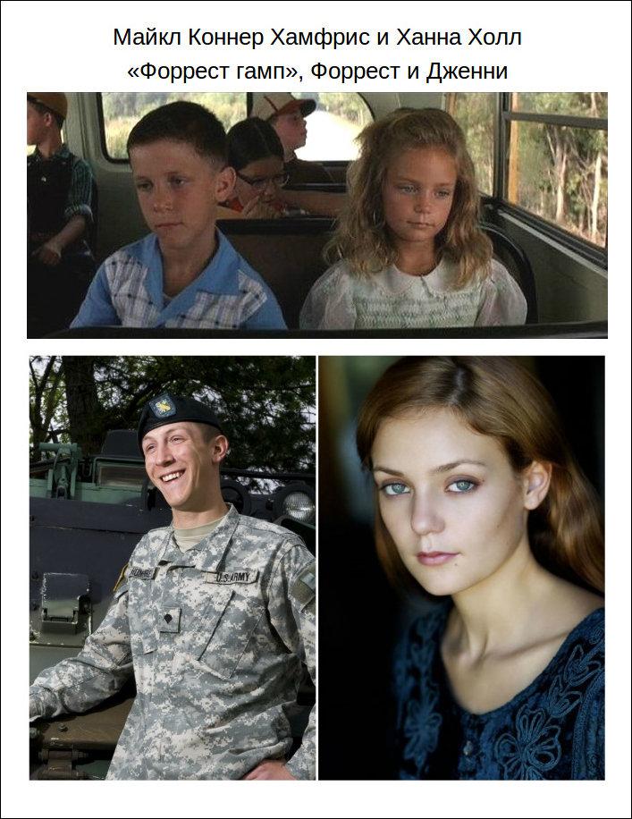 Дети актеры тогда и сейчас