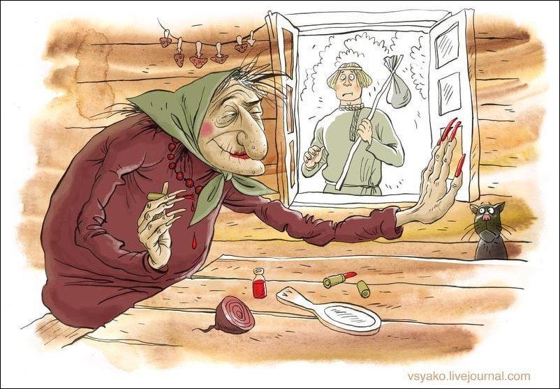 Прикольные картинки - карикатуры Ольги Громовой