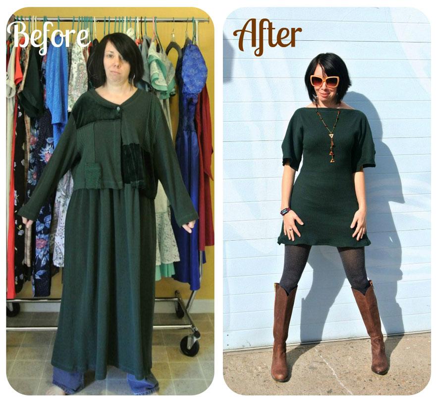 Чудесные превращения одежды из секонд-хэнда