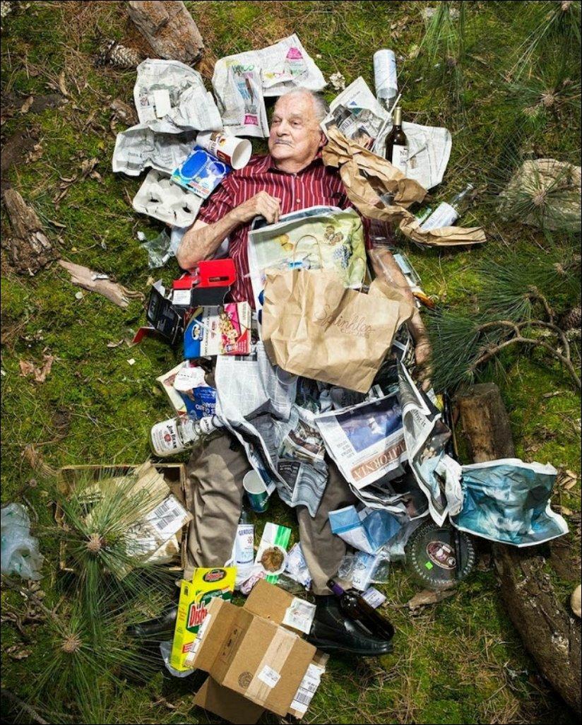 Сколько мусора накапливается за 7 дней