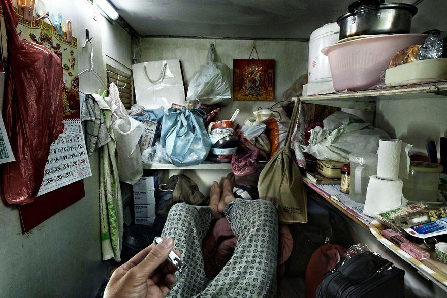 маленькие квартиры Гонконга