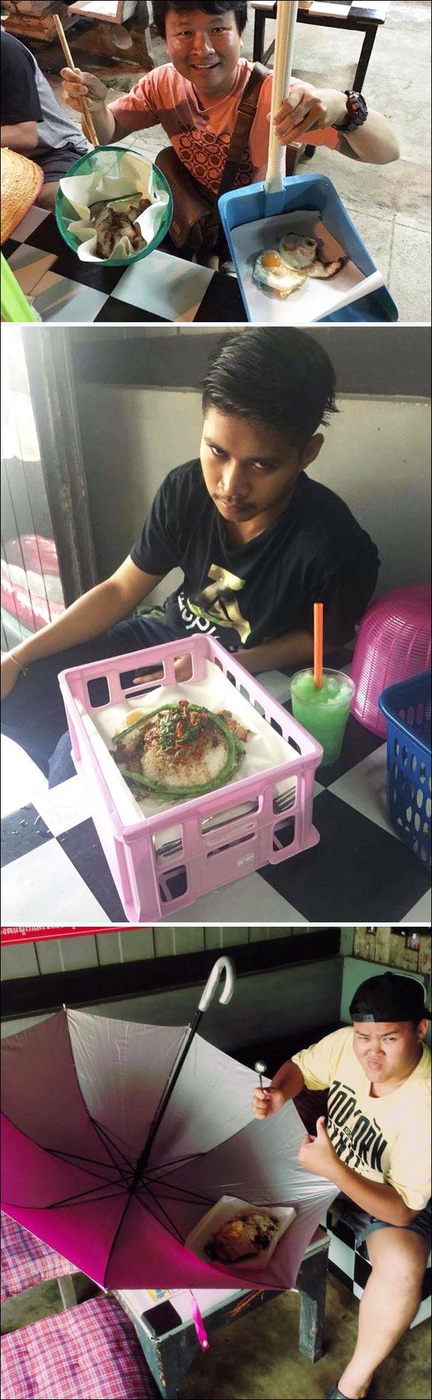 сервировка блюд