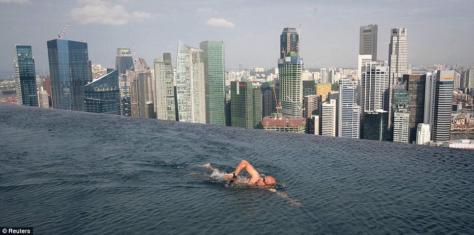 Небесный парк в сингапуре новое чудо