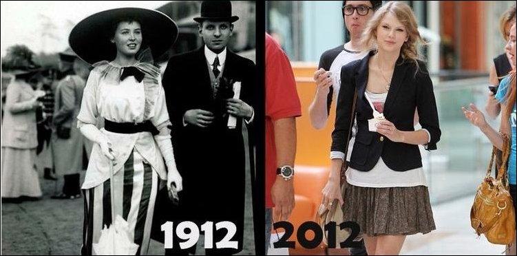 Как изменился мир за последние 100 лет