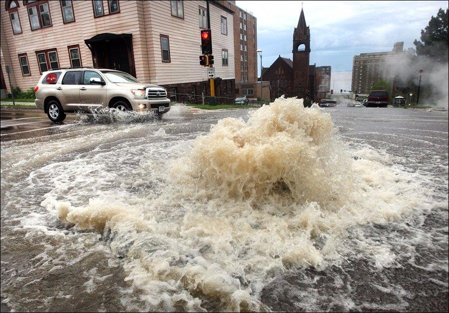 наводнение в Дулуте