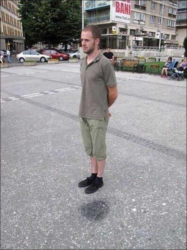 Прикольные фото-иллюзии