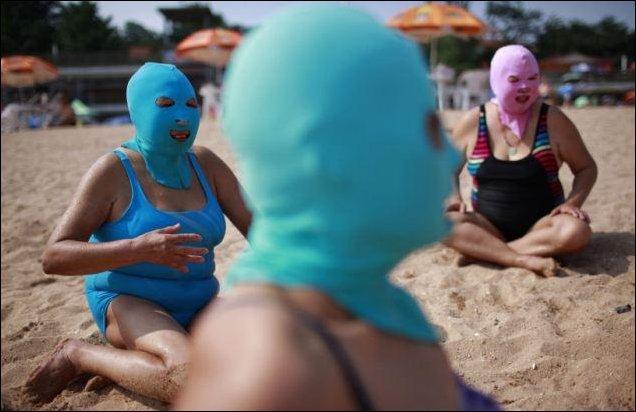 Пляжные маски