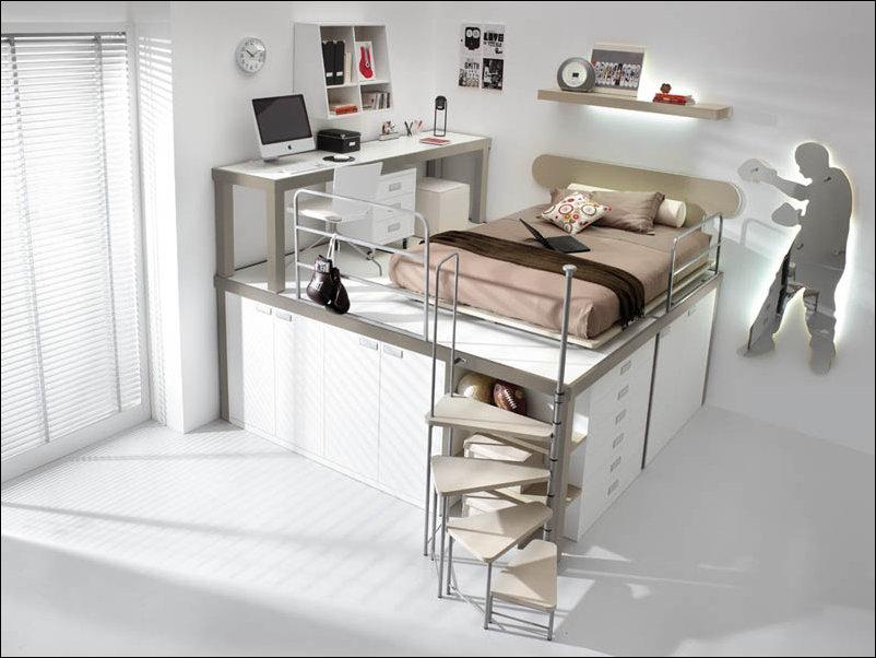 Экономим пространство в детской комнате