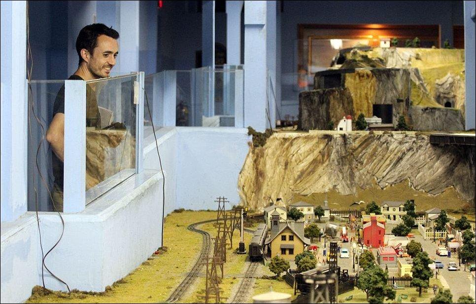 Крупнейшая модель железной дороги