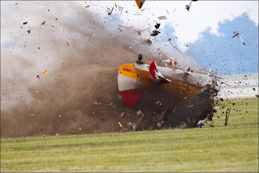 Крушение на авиашоу в Огайо