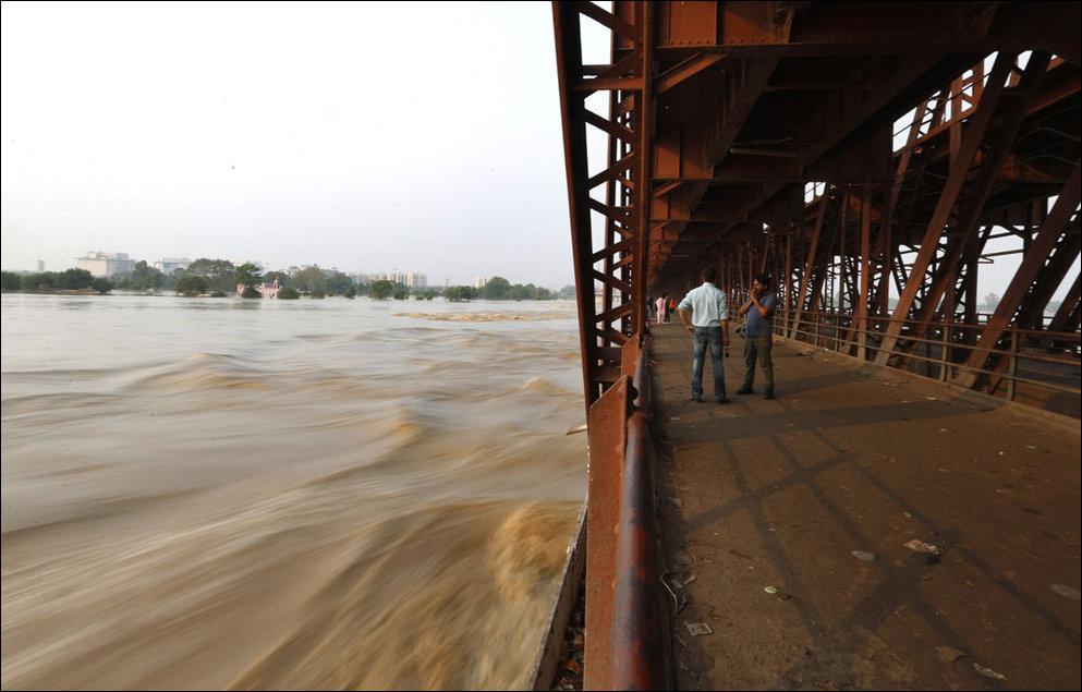 Наводение в Индии