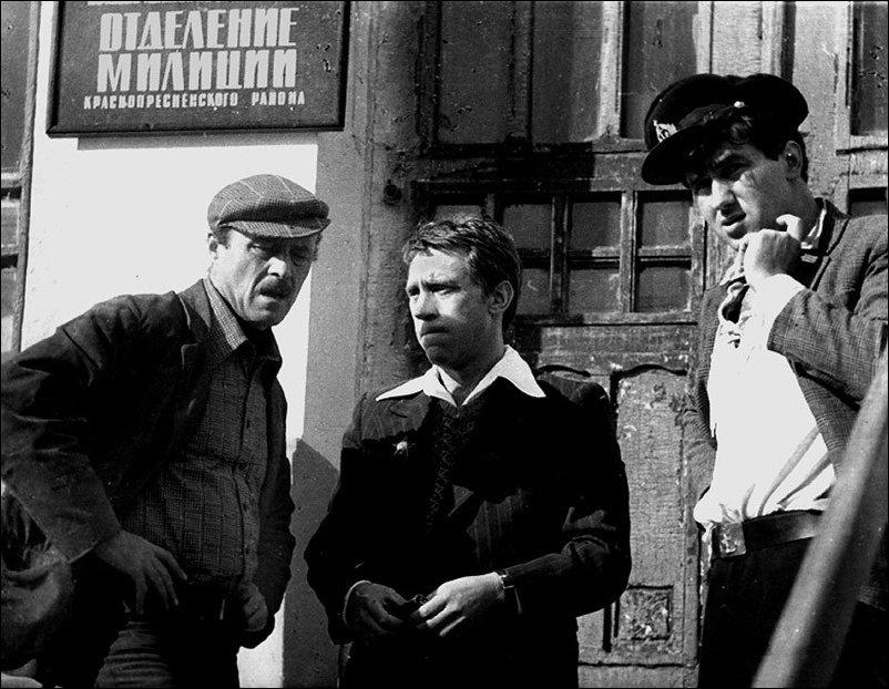Фотографии со съемочных площадок известных советских фильмов