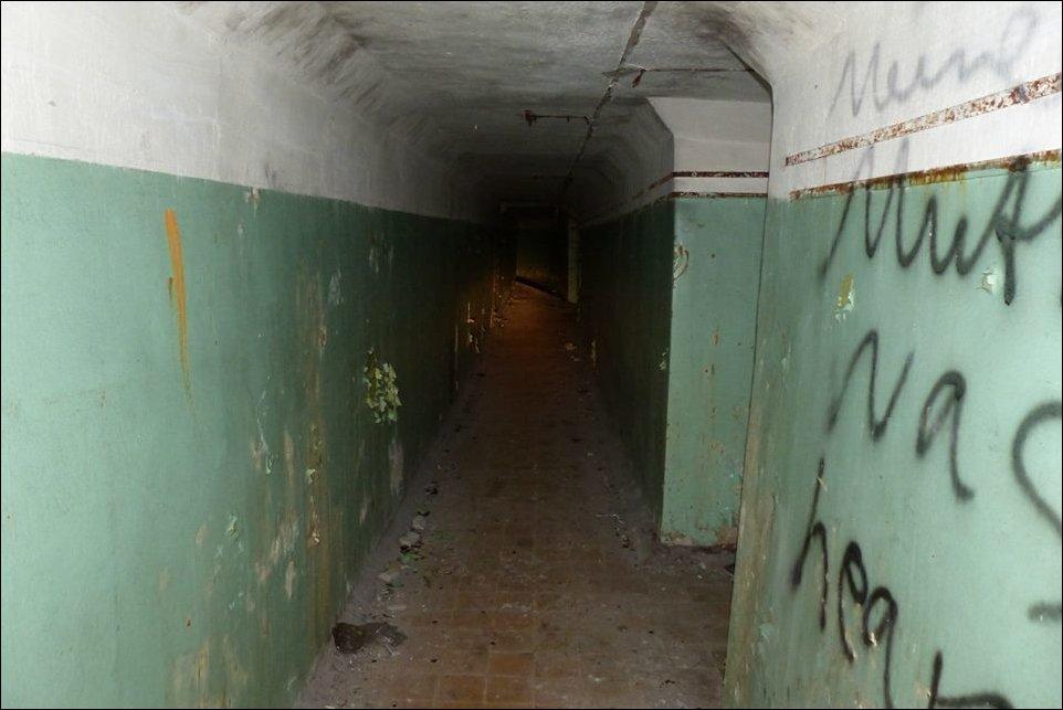 Прогулка по заброшенному бункеру