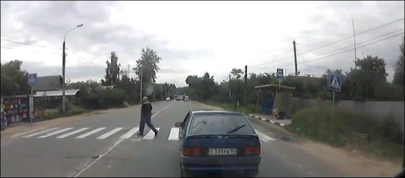 ДПС сбил пешехода