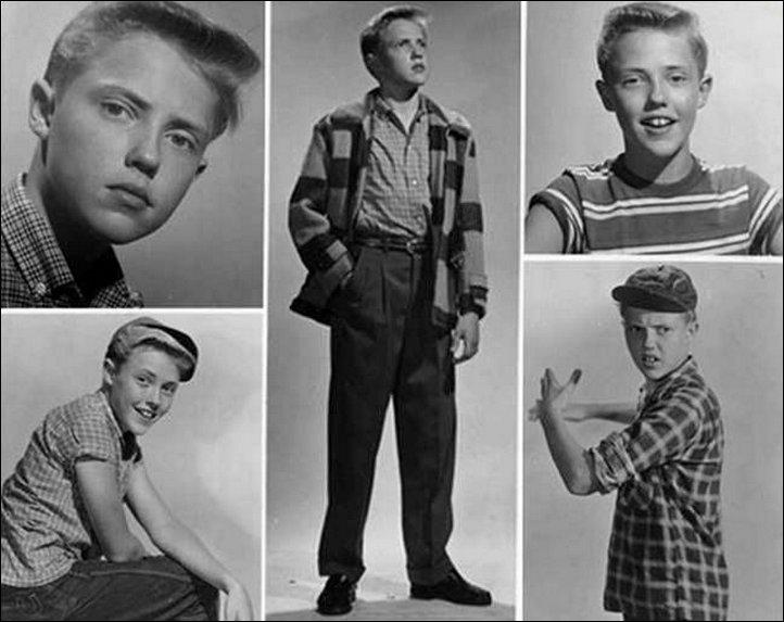 Детские и юношеские фото зарубежных знаменитостей